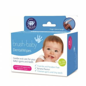 care for your baby's first tooth, baby gum wipes, babybliss, brush baby dental wipes